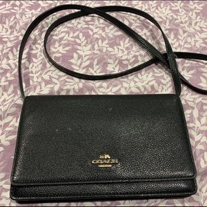 Coach Foldover Clutch Crossbody Bag